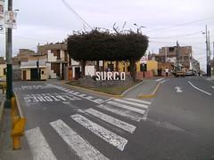 Entrada a Santiago de Surco