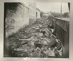 Rubbish tip, Campbell Street, Sydney