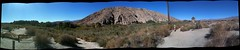 360 degree pano north of Palm Desert, CA