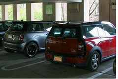 Great Cars Park Together : Mini