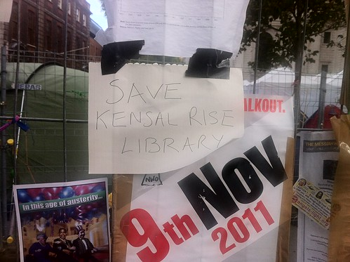Save Kensal Rise Library, Occupy London