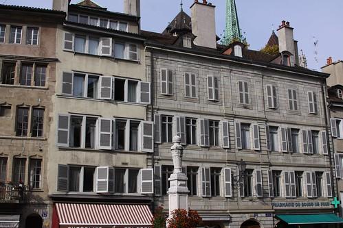 Ginebra. Place du Bourg-de-Four