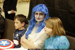 captain america, corpse bride, and the cookie monste…