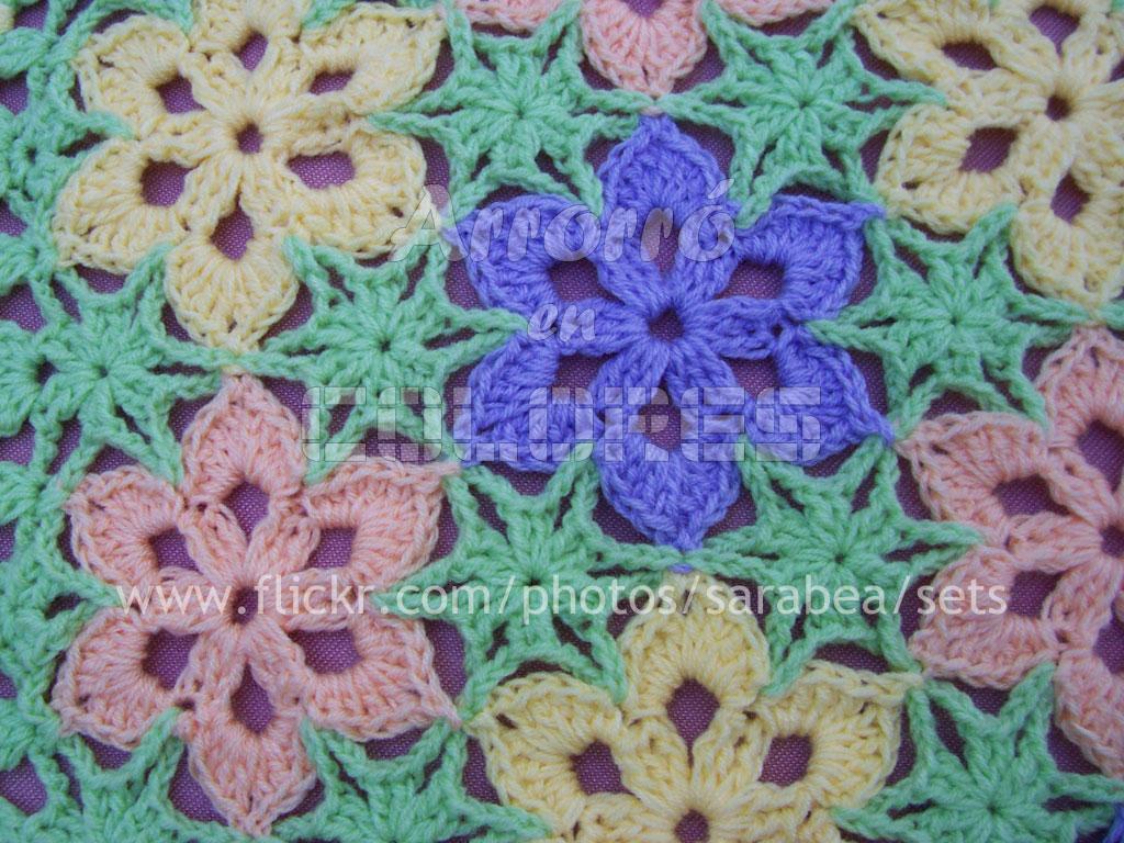 Arrorró en colores | Mantas al crochet