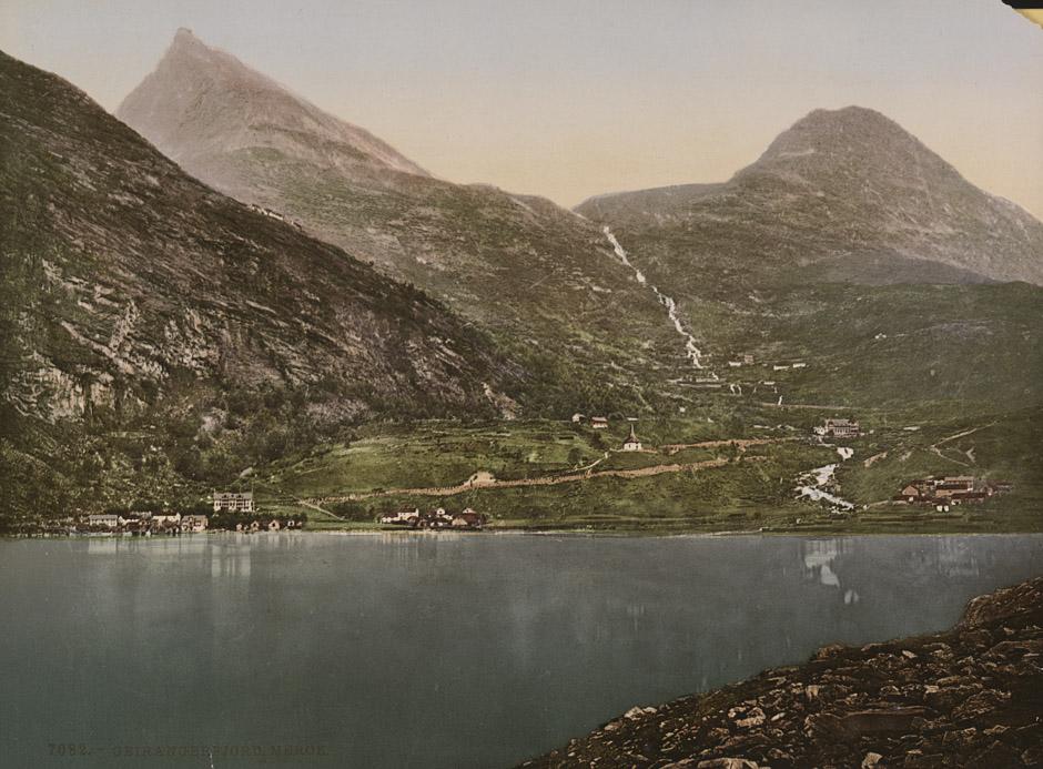 7082. Geirangerfjord, Merok