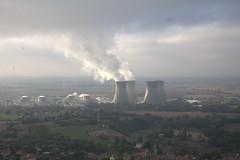 Paysage Industriel: la centrale du Bugey : la honte!