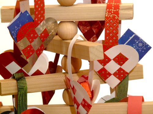Icelandic Wooden Advent Tree