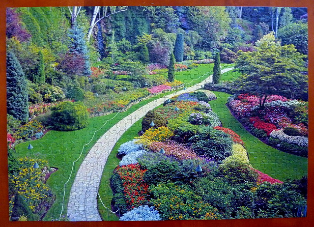 Puzzle of The Butchart Gardens