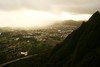 kaneohe through a cloud