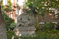 Dharbanga Statue
