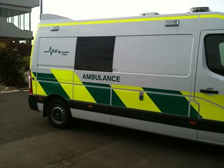 Wolverhampton Race Course Ambulance