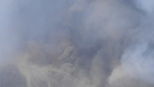Big noise, lava fountains, and loads of ash and bombs: Etna, 15 November 2011