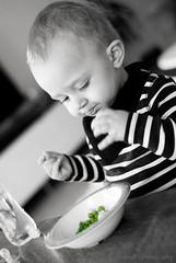 Peas. Yummy!
