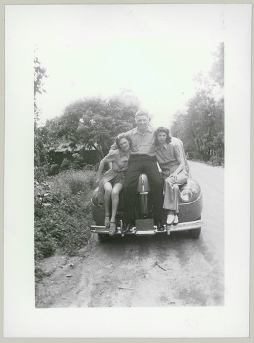Three on a car