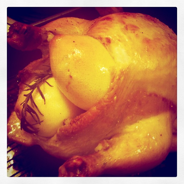 Instragram - roasted chicken