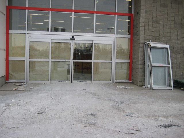 Automatic sliding doors removed flickr photo sharing