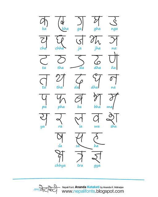 Nepali Devanagari Letters Flickr Photo Sharing