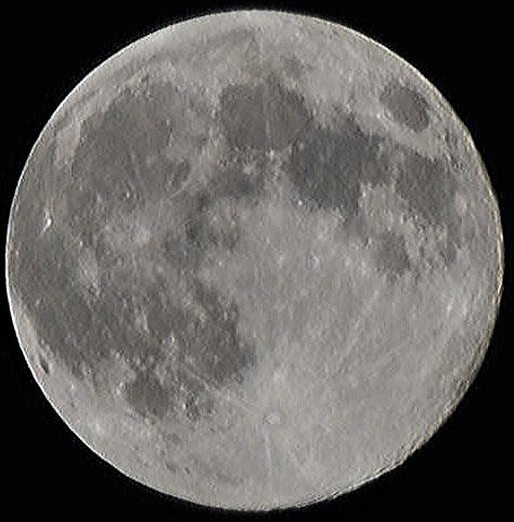 luna ascutita