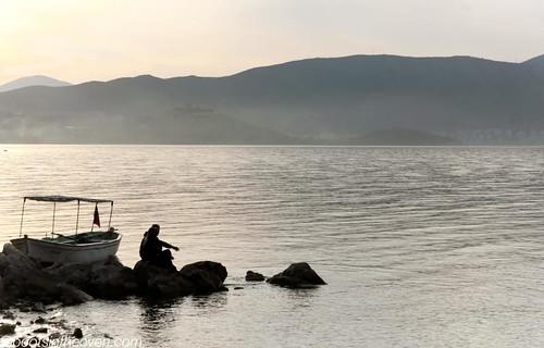 Dusk on the Shores of Lake Eğirdir