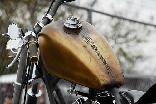 Brass Balls Brass Patina Tank by BRASS BALLS BOBBERS