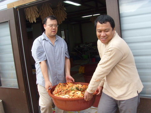 2011 김장 품앗이