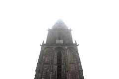 Martinitoren in de Mist