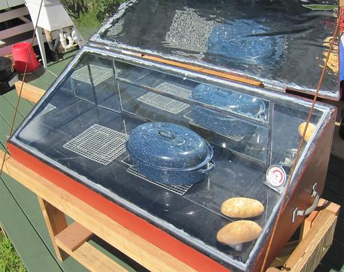 Solar Oven - Thanksgiving Dinner