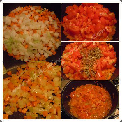 Preparando salsa para pasta