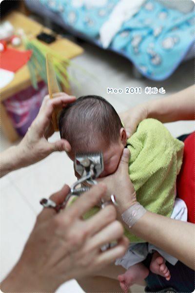 剃胎毛儀式-6