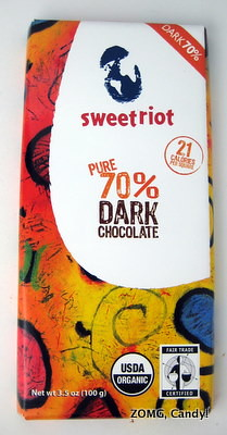 Sweetriot Chocolate Bar - 70% Dark Chocolate