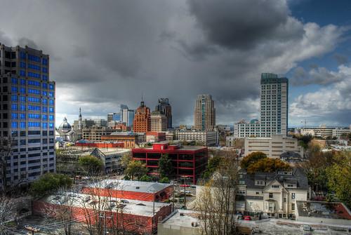 Sacramento's Springtime Storms 1 HDR