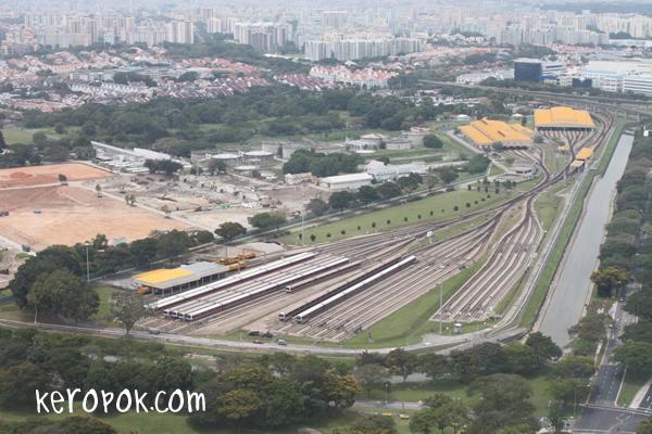 MRT Depot - Changi Depot