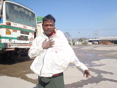 Bus driver, Kyaukme, Myanmar (Burma)