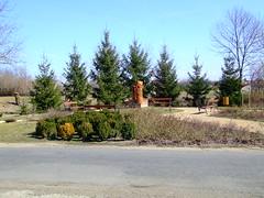 A park, ahol ebédeltünk