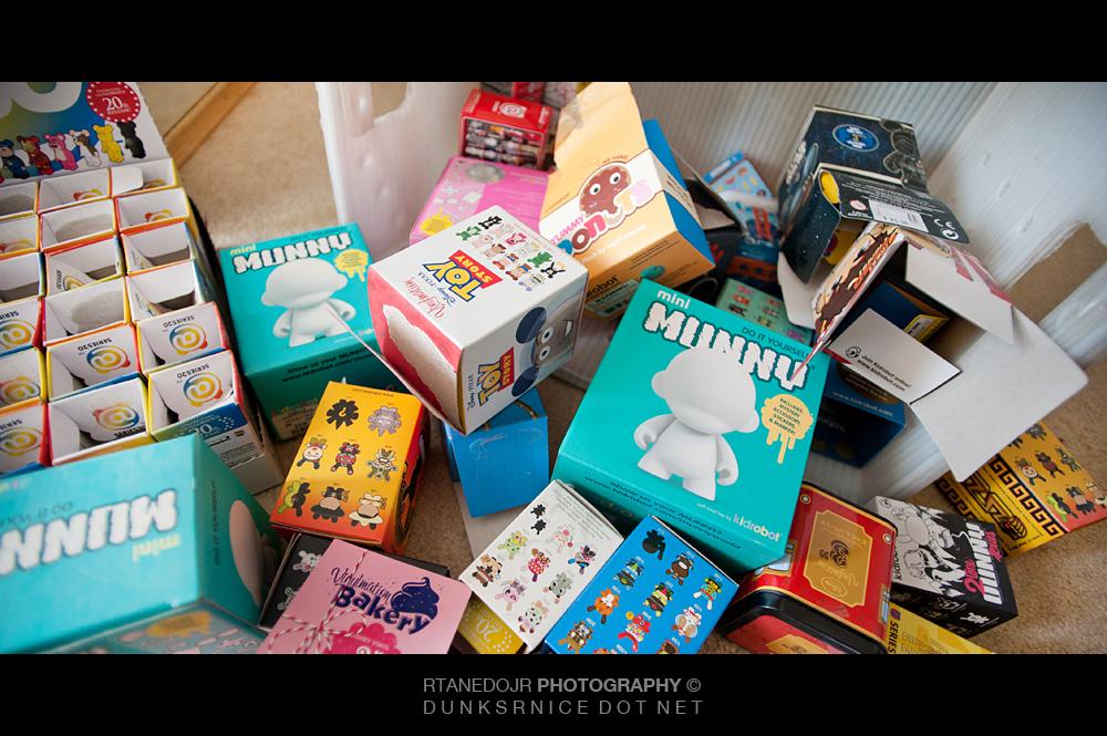 Boxes.