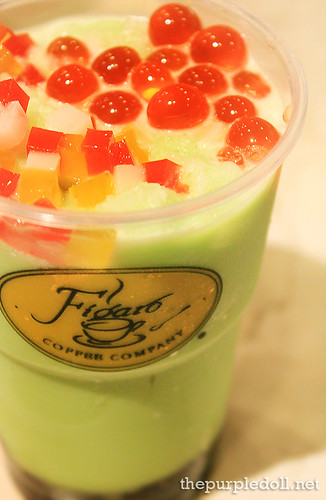 Honeydew Frost with Figaro Tea P100
