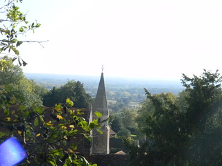 View over Sutton Valence