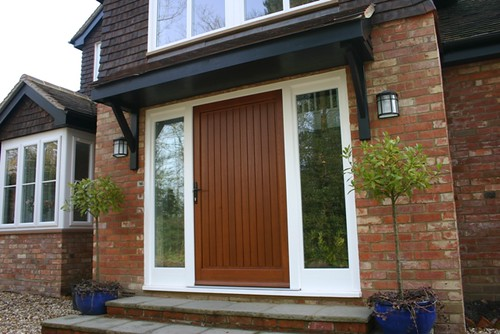 New front gallery by admiral homespace for Extra wide exterior doors