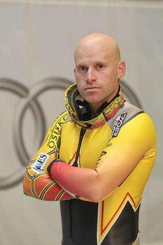 Robbie Dixon at the Audi Wind Tunnel Centre in Germany