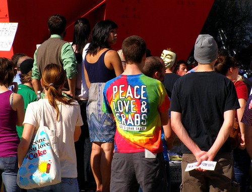 Peace, Love & Grabs @ Occupy GR