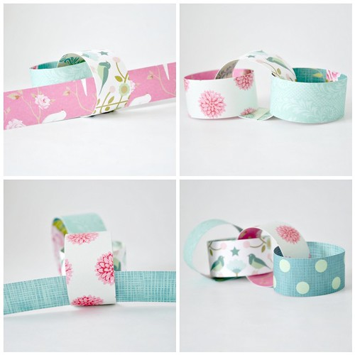 Paper chain - Steps 9-12