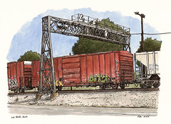 2nd st freight train