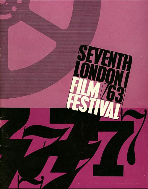 1963 London Film Festival Poster