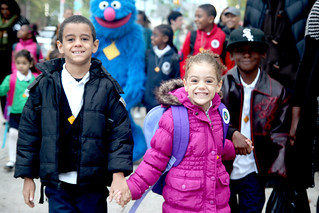 International Walk to School Day 2011
