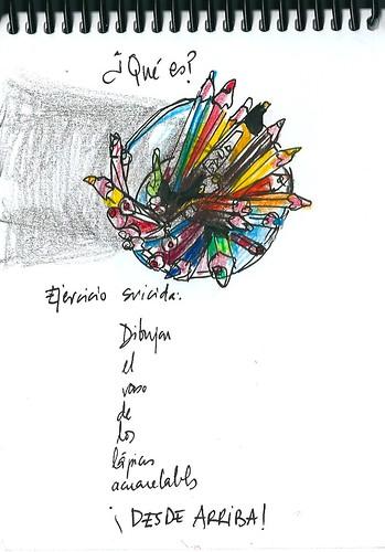 Vaso de lápices (Punto de vista suicida)