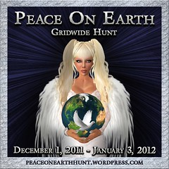 Peace on Earth Hunt poster