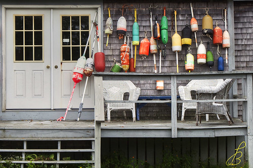 house landscape fishing maine tools lobster boothbay 2011