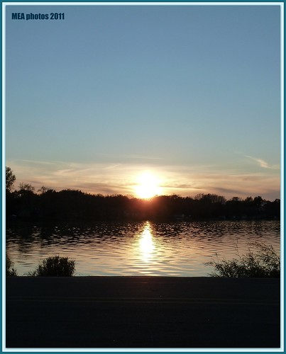 sunset sun reflection nature water wisconsin clouds 1001nights waterscape waterscene 1001nightsmagiccity