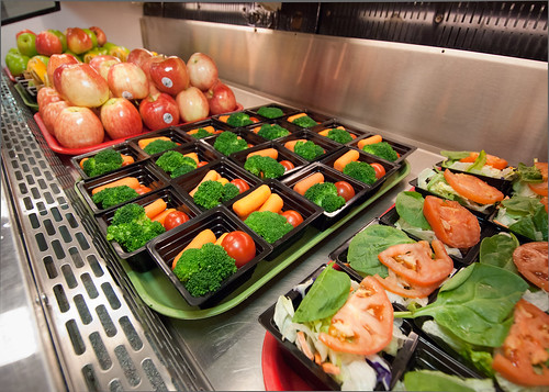 Introducing students to healthy foods early on through farm to school programs is one way to reduce the amount of fruits and vegetables wasted in schools.