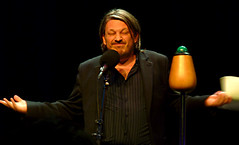 Richard Herring in the BBC Radio Theatre